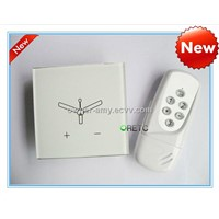 remote control fan switch, Touch fan speed switch used for fans,Crystal tempered glass panel