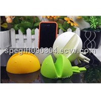 silicone iPhone holder  silicone phone stander