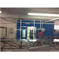 spray booth with watercurtain (CE approved )