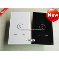 wall touch timer switch, touch switch+light timer switch with LED indicator