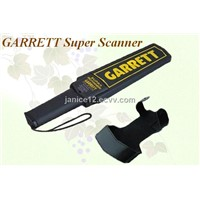 weapon gun detector ,GARRETT hand held metal detector, garrett super scanner