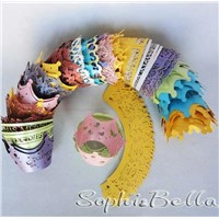 wholesale cupcake wrapper baking wrapper for cupcake decoration