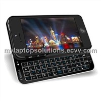 Wireless Sliding Bluetooth Keyboard Case for iPhone 5 Mobile Phone