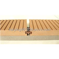 eco wpc outdoor decking floor