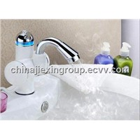 Bath Kitchen Tankless Electric Instant Water Heating Faucet Tap Heater