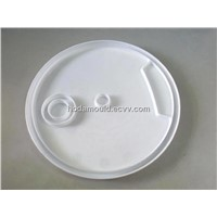 mold for plastic bucket lid
