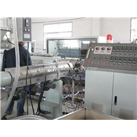 pe water and gas pipe extrusion equipment