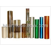 LACQUER COATED METALLISED POLYESTER FILM