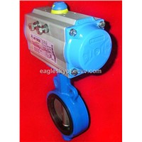 """AT"" series High quality quarter turn Pneumatic Actuator"