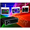 New 1w RGB Full Color Animation Laser Light with Sd+2d/3d Change,Christmas Outdoor Laser Light
