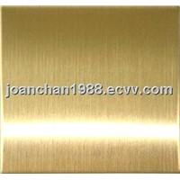 Brushed Finish Stainless Steel Titanium Steel Sheet