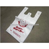 Degradable HDPE SHOPPING T-SHIRT BAG