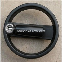 Double Spoke Handwheel with Fold Handle
