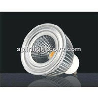 GU10 1X5W COB High Lumen LED Lamp Cup