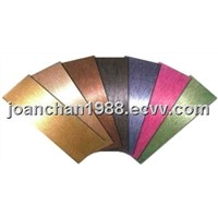 Hair Line Finish Stainless Steel Sheet, Brushed Finish