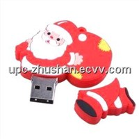 Hot Gifts Santa Shaped Flash Disk