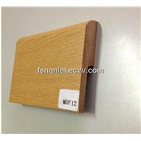 MDF Skirting Board Covered with PVC Wood Grain Foil