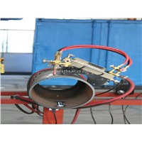 Magnetic Pipe Flame Cutting & Beveling Machine
