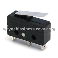 Mini SPST/SPDT Micro Switch series for appliances ENEC/UL approved