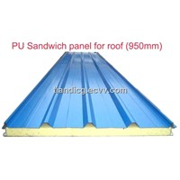 PU sandwich panel for wall and roof