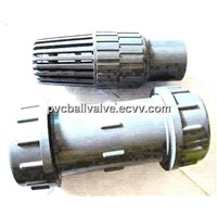 Plastic Grey PVC Compression Coupling ANSI Standard