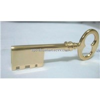 Popular New Metal Key Shaped USB Flash Memory