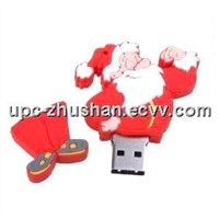 Santa Promotional Gift 8GB 16GB USB Flash Mass Storage