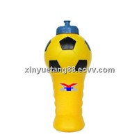 Soccer Plastic Water Drinking Bottle