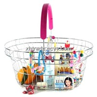 Supermarket Basket - Wire Shopping Basket