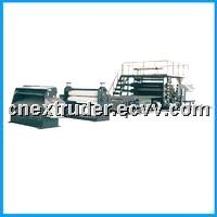Transparent PVC film extrusion production line