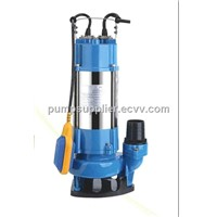 V750 series sewage stainless steel casing multistage submersible water Pump WQ5-7-0.45/V550F