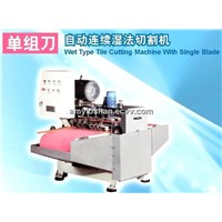 Wet Type Auto Ceramic Cutting Machine