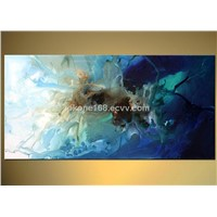 100%handmade abstract oil painting for decor