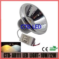 10W LED AR111 Reflector Spot Lamp with 230V External Driver and SHARP LED chips
