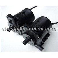 12V Brushless DC Pump ZC-B40 12V, High Temp. 95C, Fit for Hot Water/ Oil Pumping / Circulation