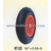 14 inch wheelbarrow tube&tyre 3.50-8
