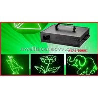 1watt green laser light animation projector