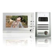 2012 New 7inch Video Intercom System with Taking Photoes