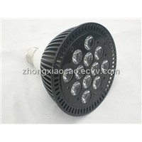 36w 12x3w LED aquarium spot light for fish and coral reef