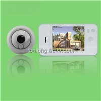 3.5 Inch Digital Peephole with Doorbell Automaticlly Take Photoes