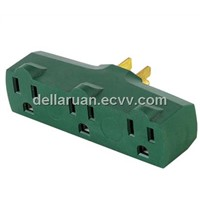 3 outlet plug adaptor AC 15A