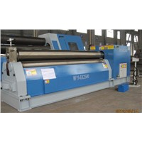 3 Rolls Small Sheet Roller Bending Machine / Sheet Metal Roller Bending Machine