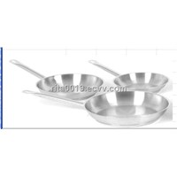 3pcs frypan set stainless steel frying pan set skillet set