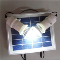 3w portable solar lighting kit system for home rural area