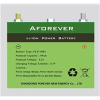 50Ah lithium car battery cell for EV, HEV, PHEV, E-BUS, UPS, AGV