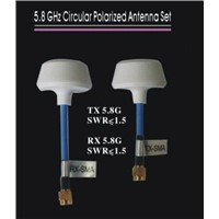 5.8Ghz Circular Polarized Antenna Set