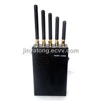 Portable 4G LTE and 4G WIMAX Cell Phone Jammer