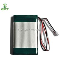 6560106 3.7V 4100mah Lipo, Lithium Polymer battery with PCB by OEM factory