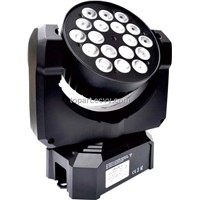 9WX12 CREE RGB 3 in 1 LED Small Stage DJ Moving Head Light