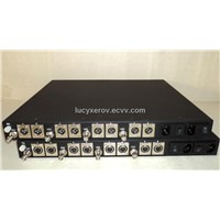 Audio Digital Fiber Optical Transmitter and Receiver